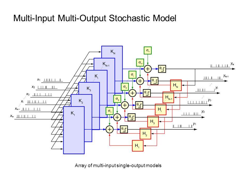 Multi-Input Multi-Output Stochastic Model