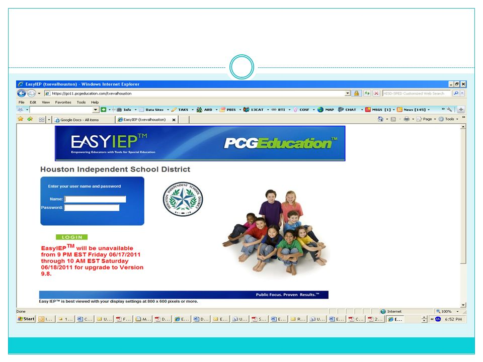 Log on, go to Main Menu, Click on Students tab; Enter school name and search for student