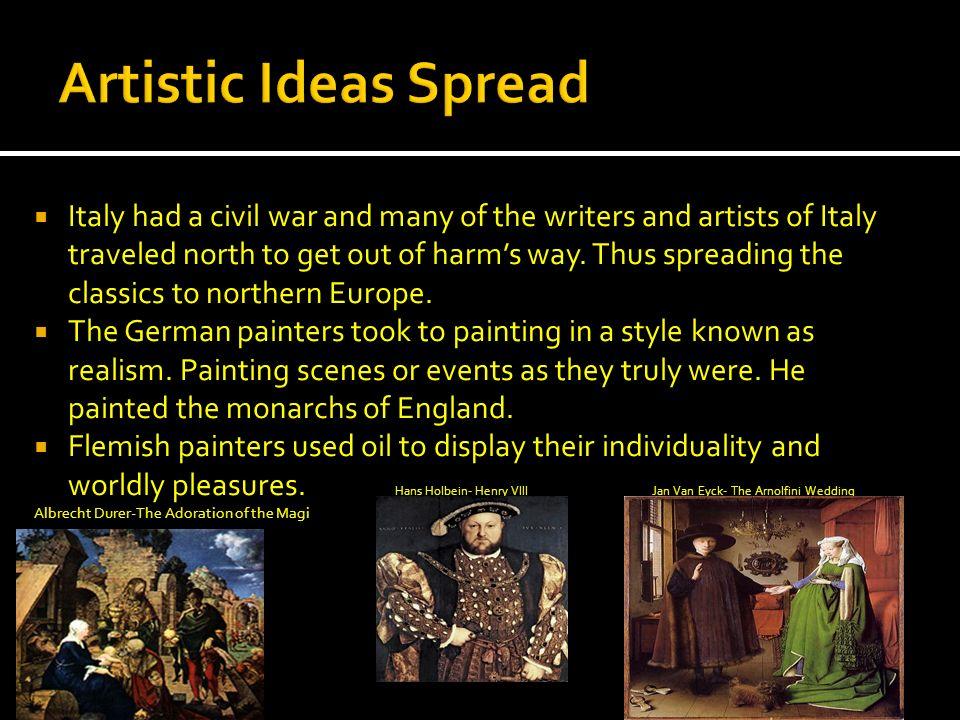 Artistic Ideas Spread