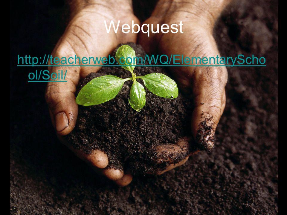 Webquest http://teacherweb.com/WQ/ElementarySchool/Soil/