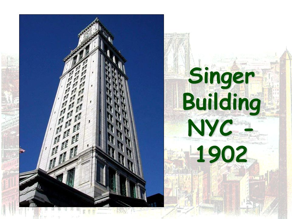 Singer Building NYC