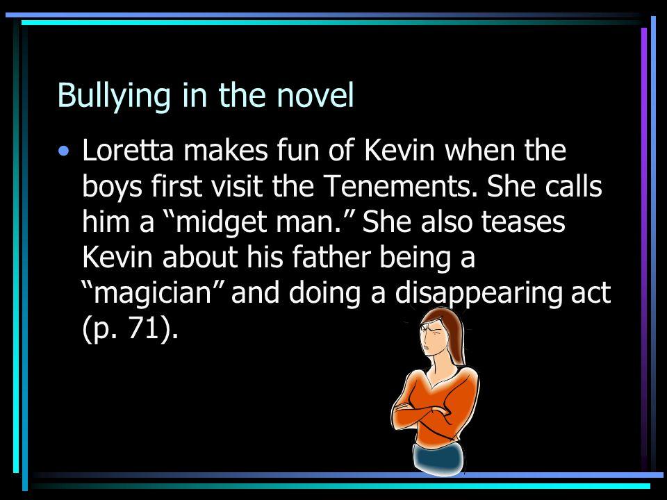 Bullying in the novel