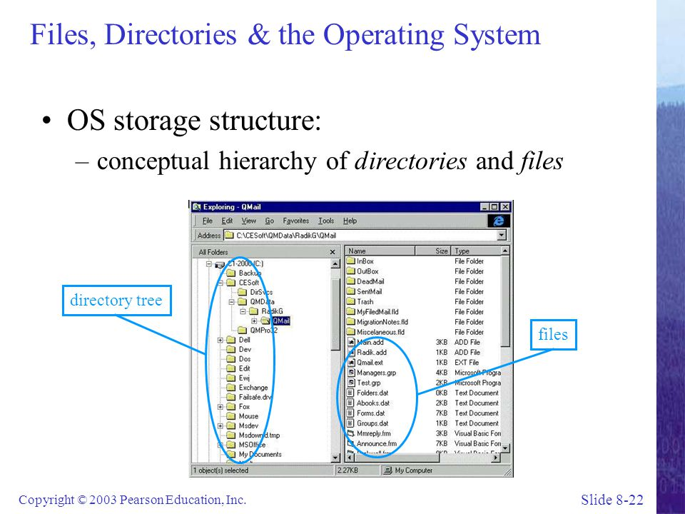 Files, Directories & the Operating System