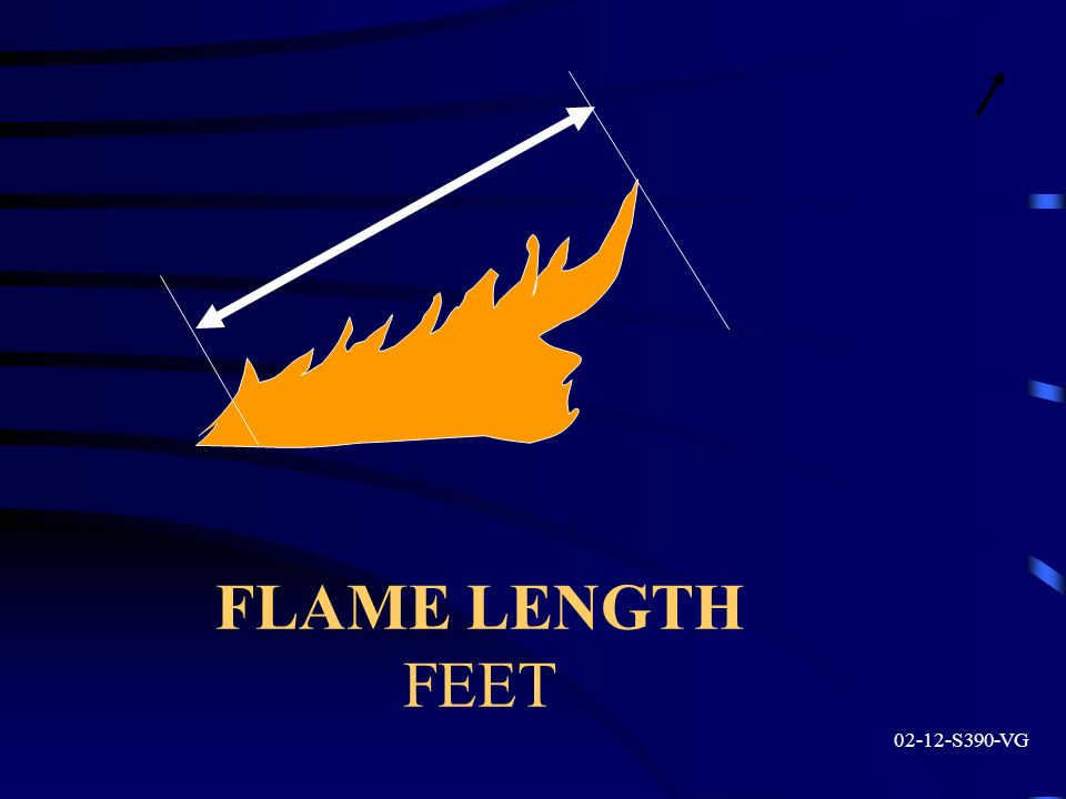 FLAME LENGTH FEET S390-VG
