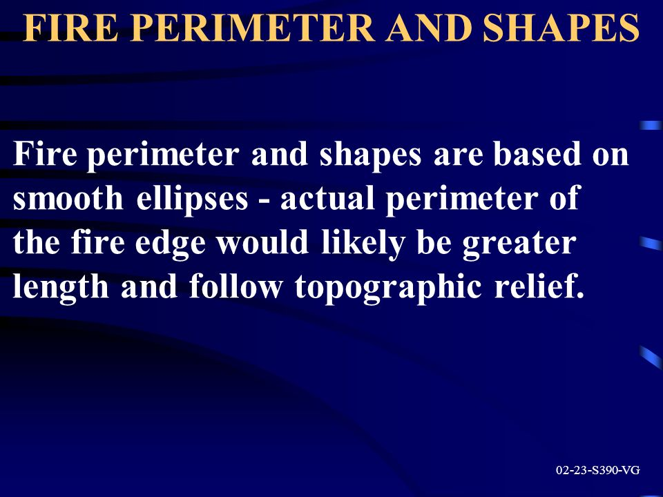 FIRE PERIMETER AND SHAPES
