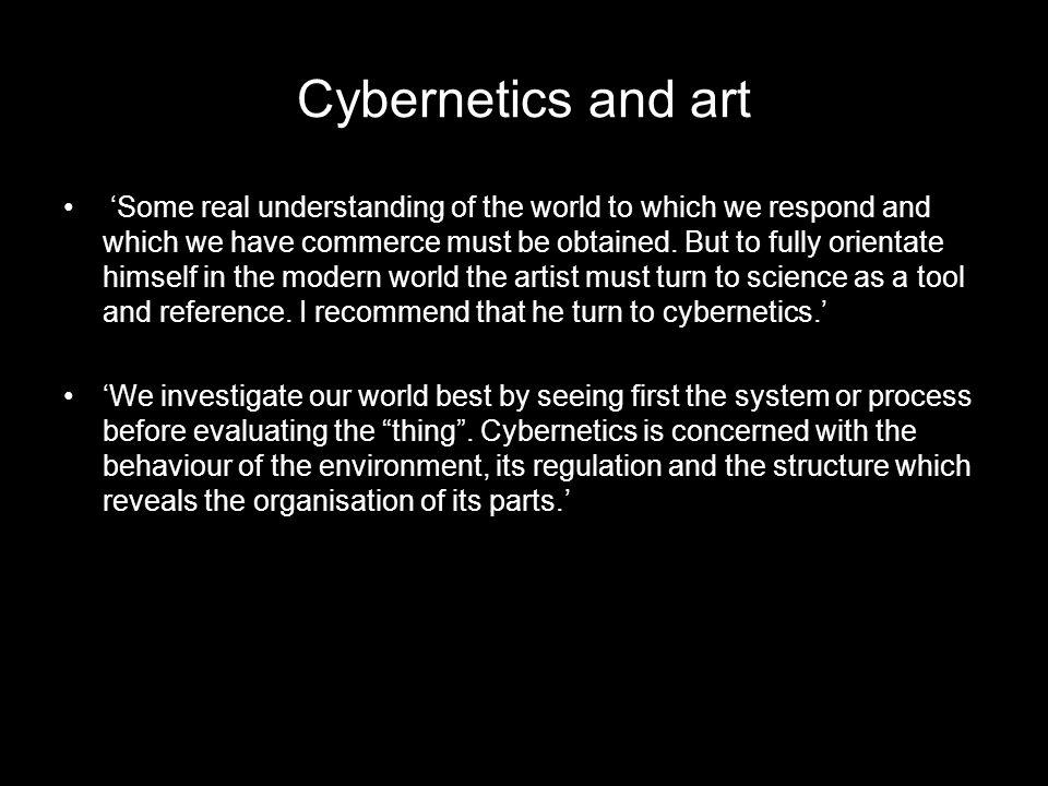 Cybernetics and art