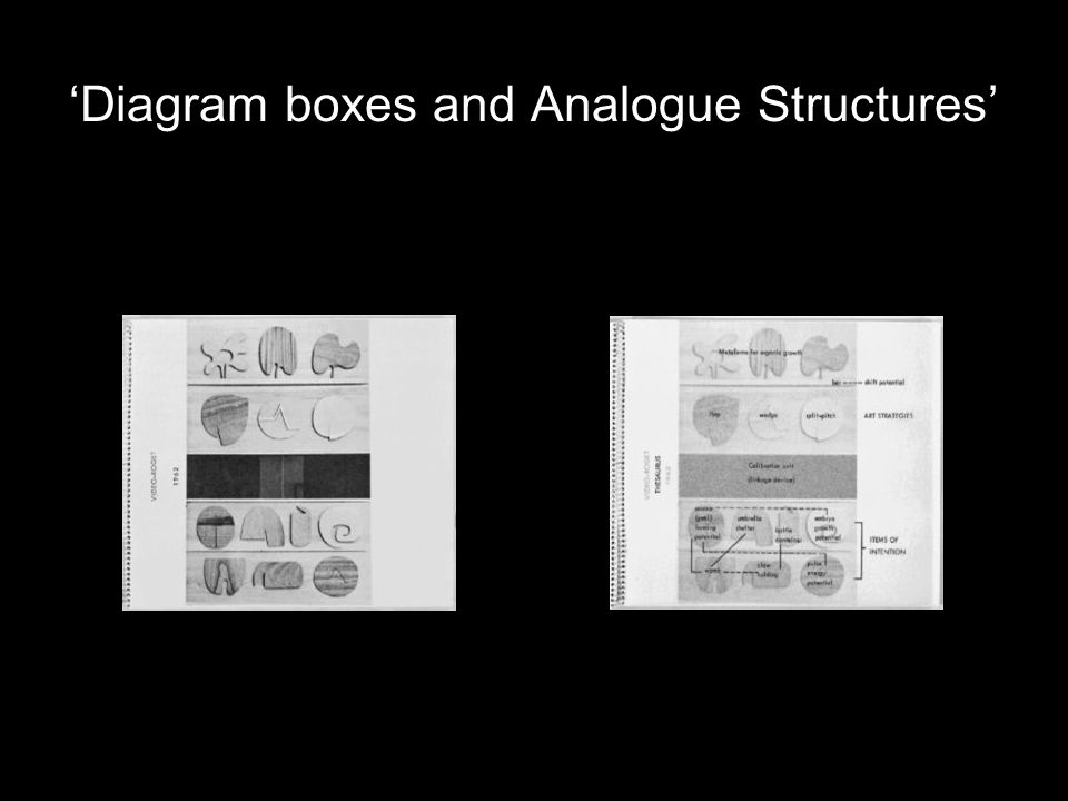 'Diagram boxes and Analogue Structures'
