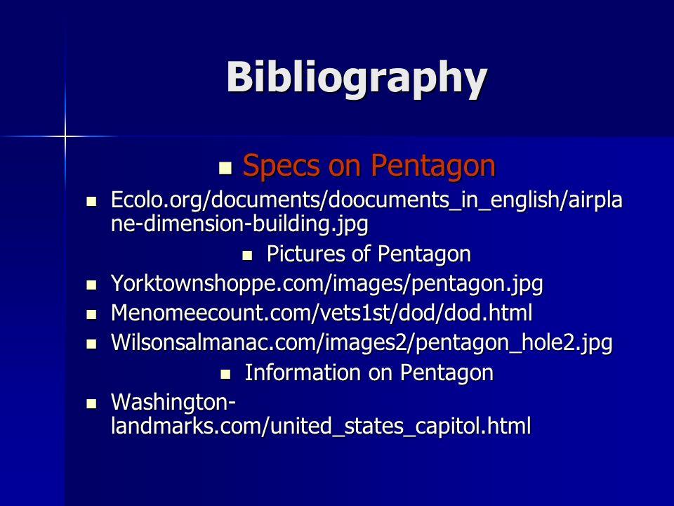 Information on Pentagon