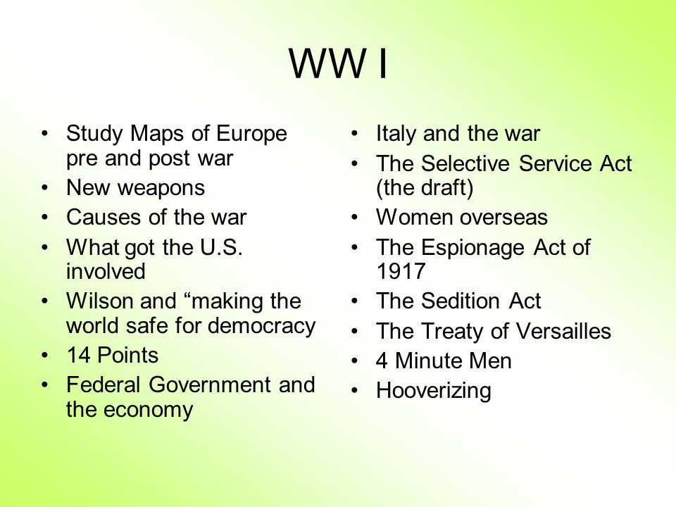 WW I Study Maps of Europe pre and post war New weapons