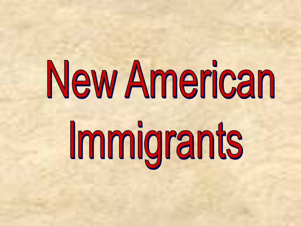 New American Immigrants