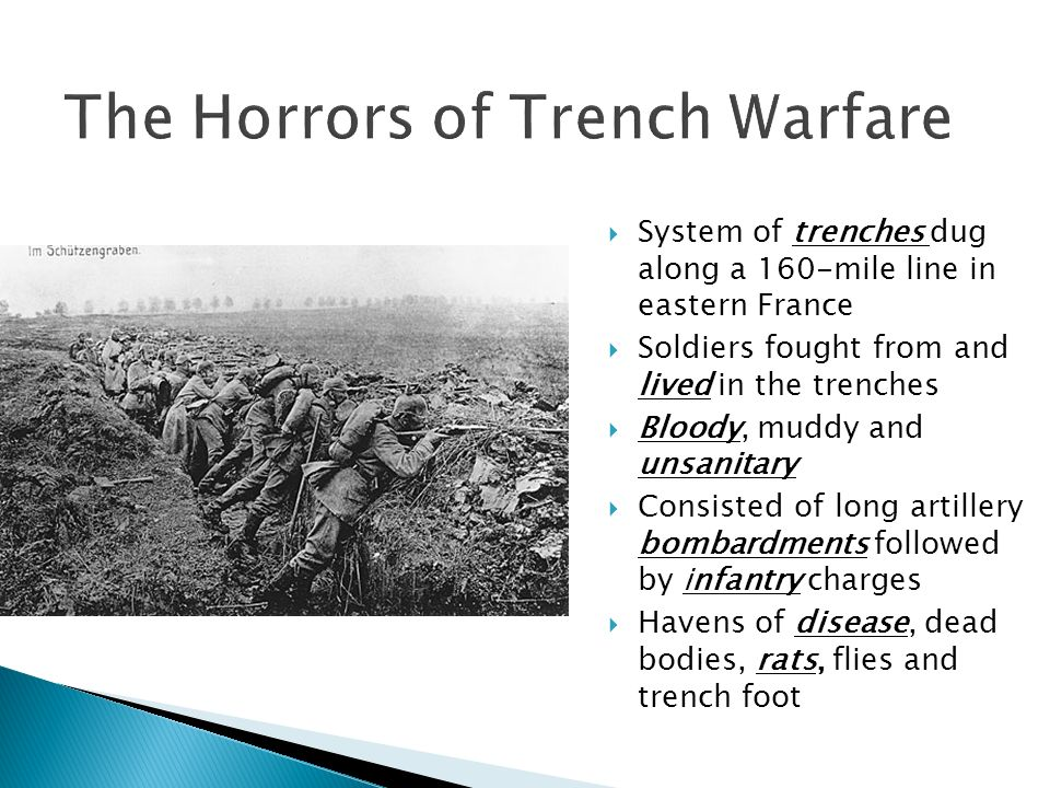 The Horrors of Trench Warfare