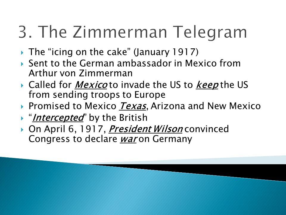 3. The Zimmerman Telegram