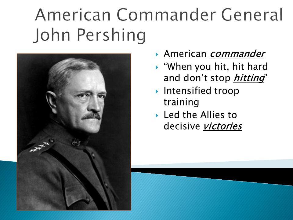 American Commander General John Pershing