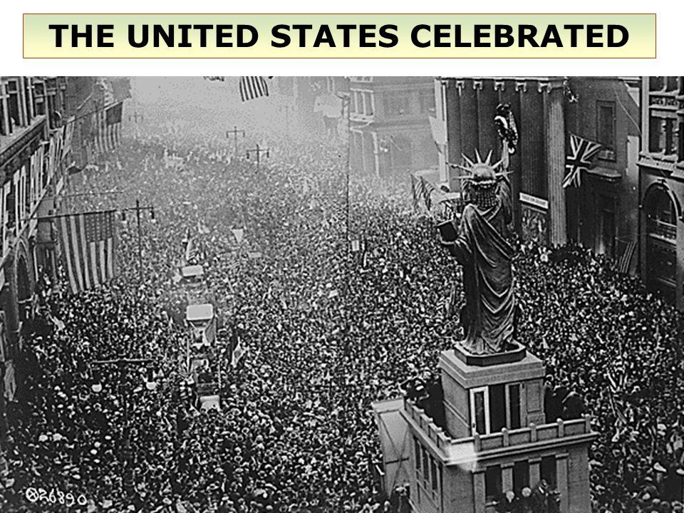 THE UNITED STATES CELEBRATED