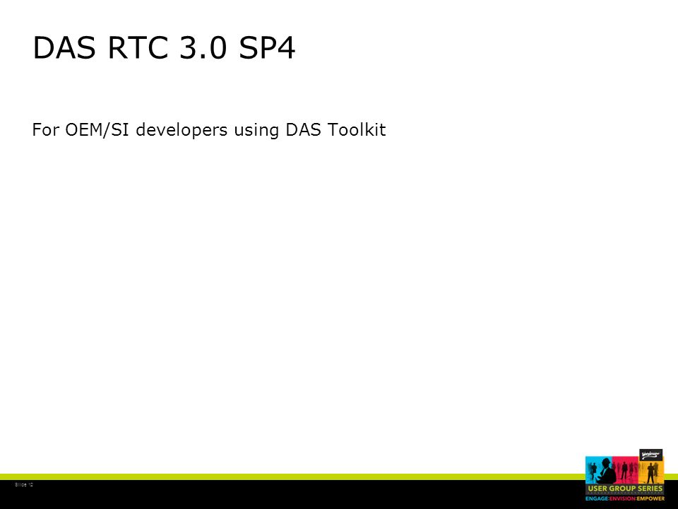 DAS RTC 3.0 SP4 For OEM/SI developers using DAS Toolkit
