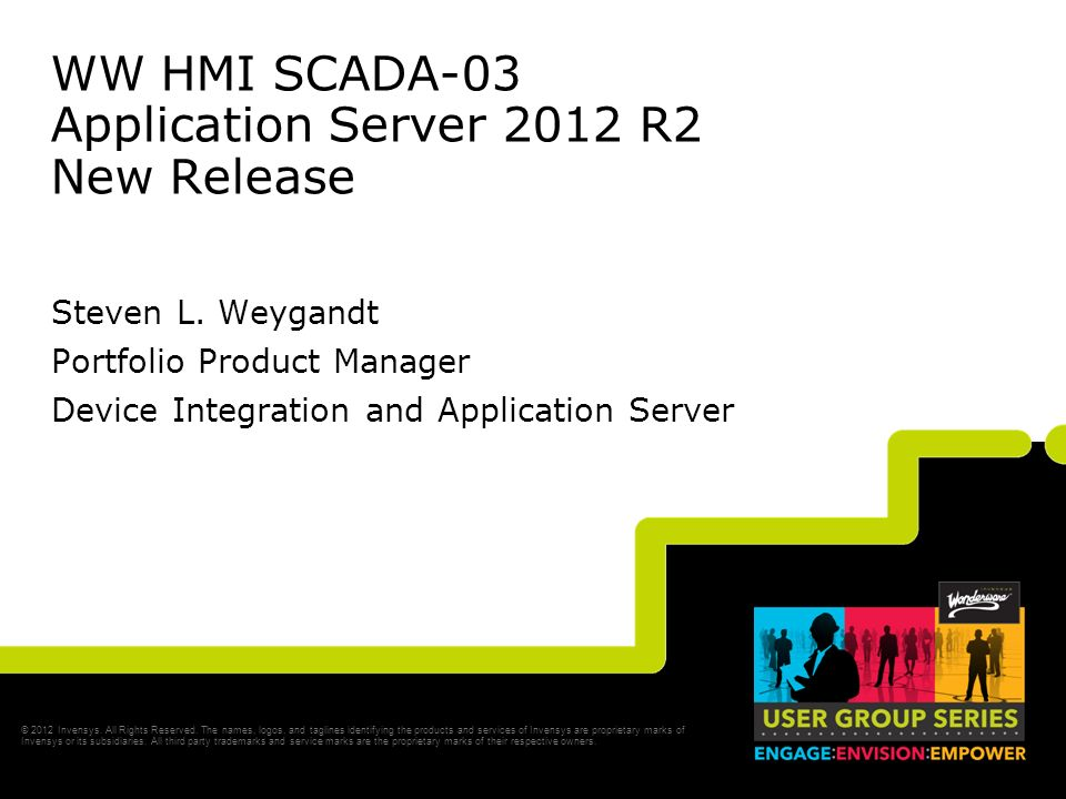 WW HMI SCADA-03 Application Server 2012 R2 New Release