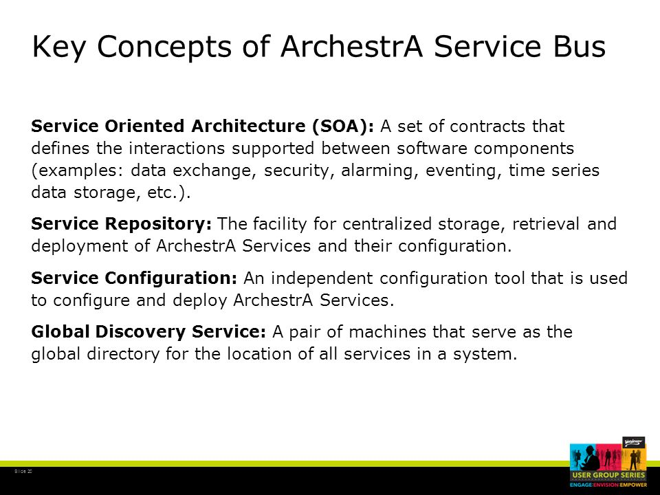Key Concepts of ArchestrA Service Bus