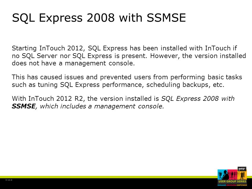 SQL Express 2008 with SSMSE