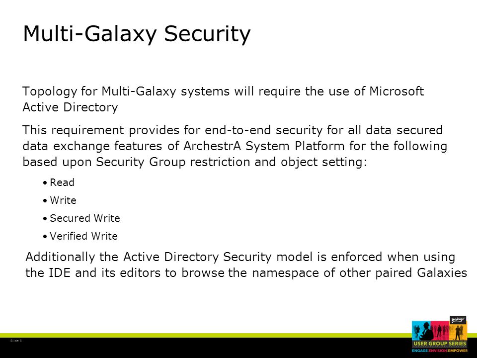 Multi-Galaxy Security
