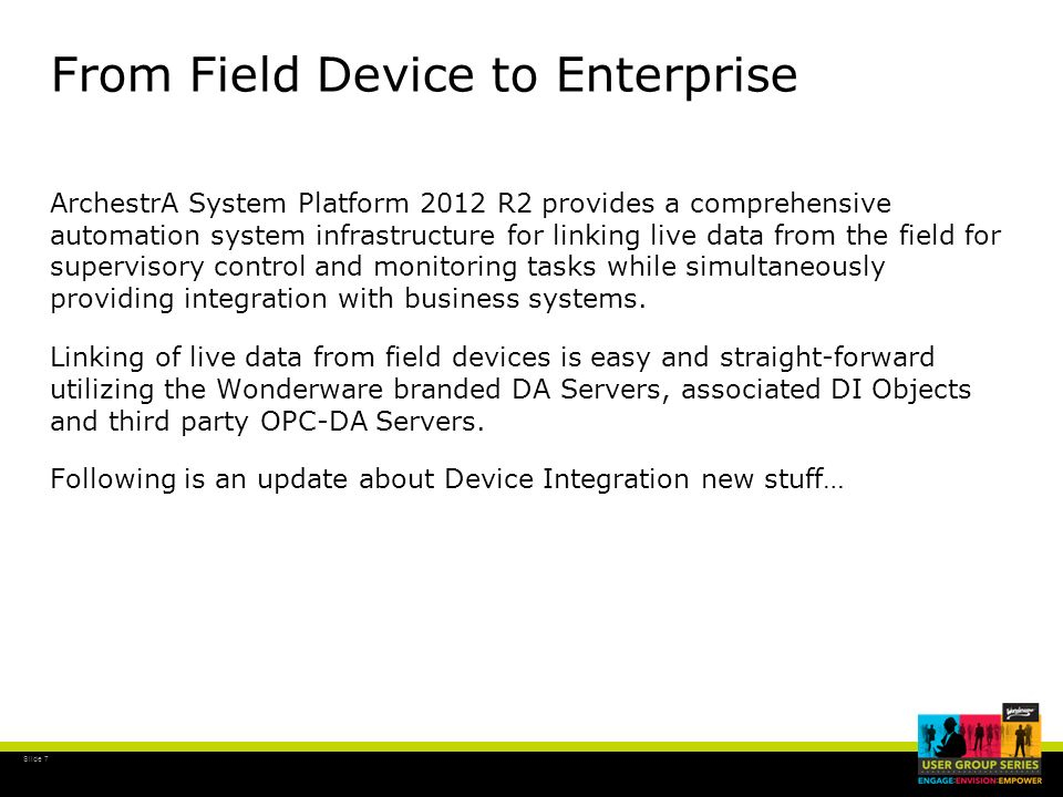 From Field Device to Enterprise