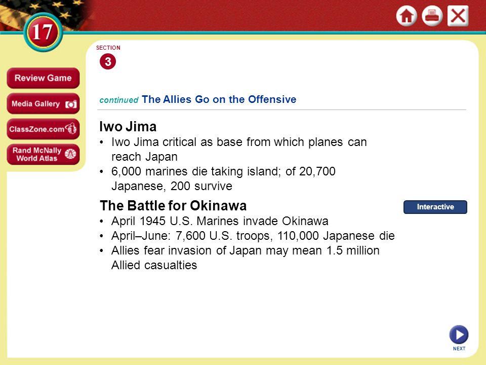Iwo Jima The Battle for Okinawa 3