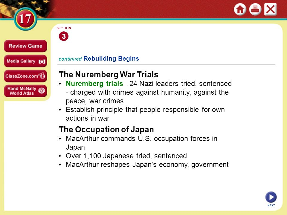 The Nuremberg War Trials