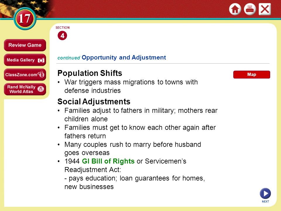 Population Shifts Social Adjustments 4