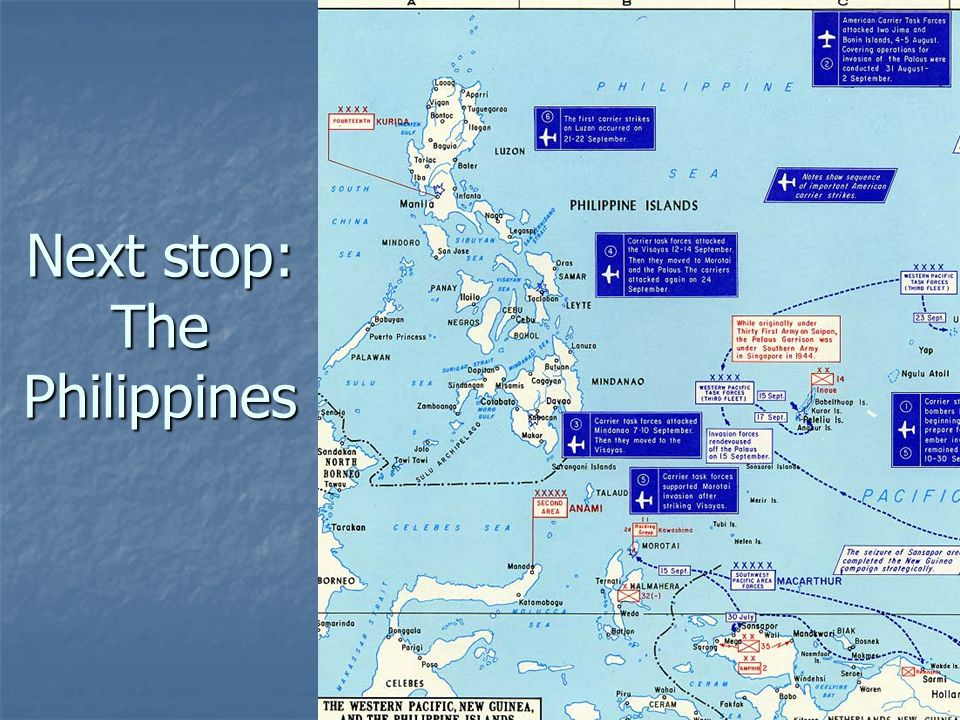 Next stop: The Philippines