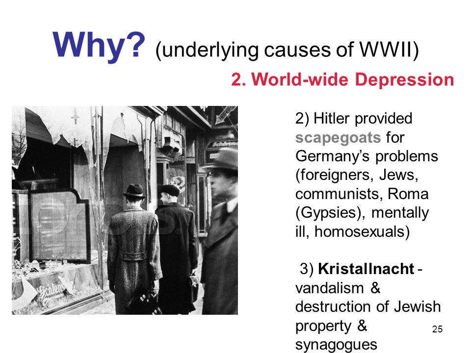 Why (underlying causes of WWII)