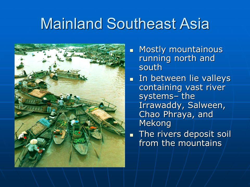 Mainland Southeast Asia