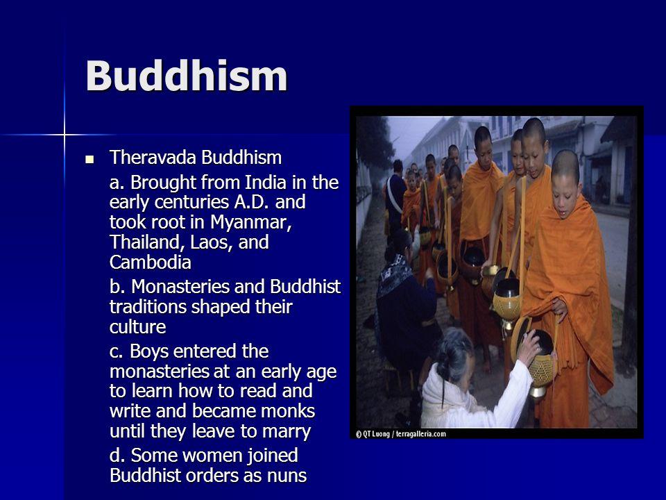 Buddhism Theravada Buddhism