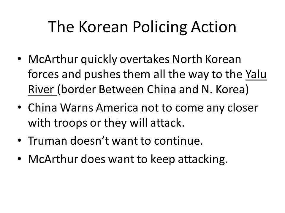 The Korean Policing Action