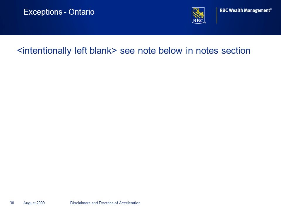 <intentionally left blank> see note below in notes section