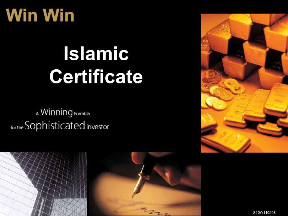 Islamic Certificate S10Yr110208