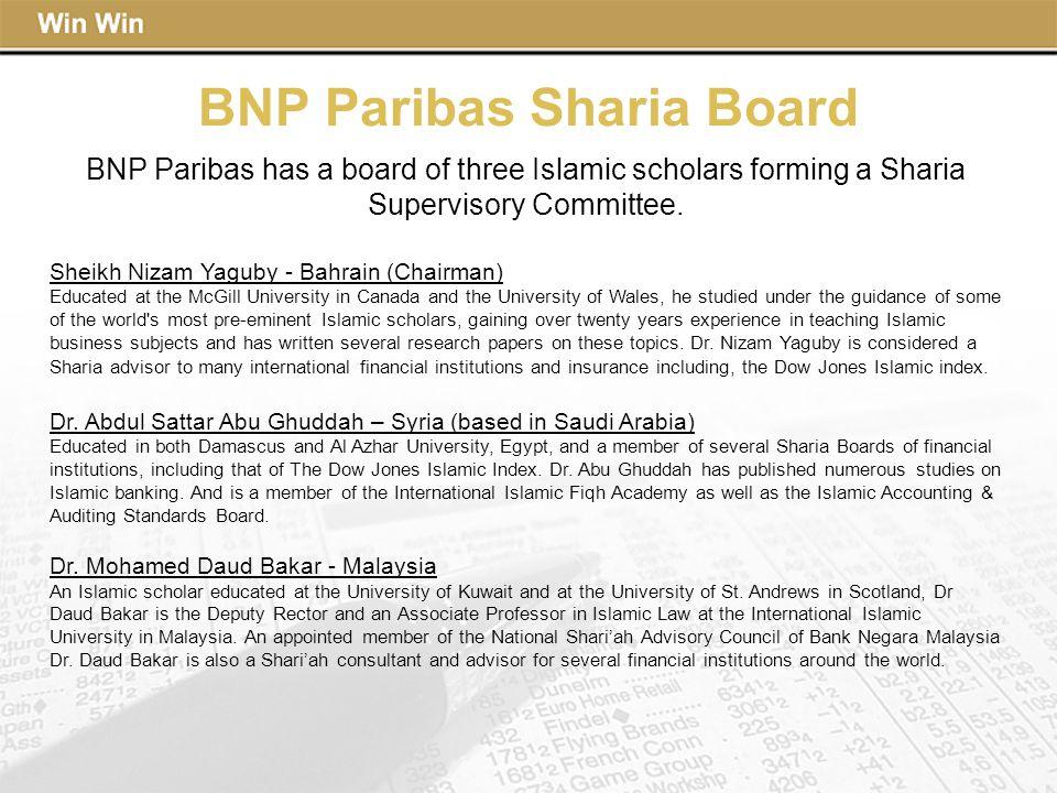 BNP Paribas Sharia Board