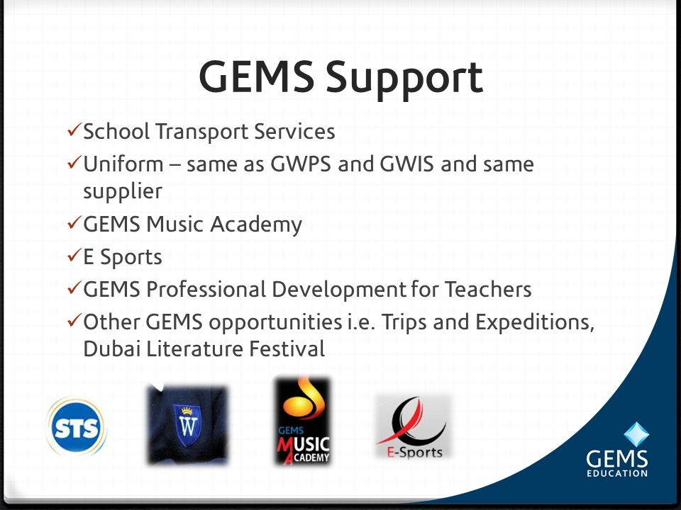 GEMS Support School Transport Services