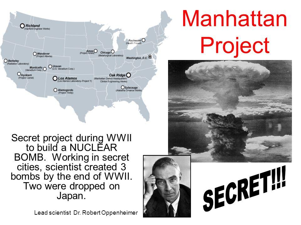 Manhattan Project SECRET!!!
