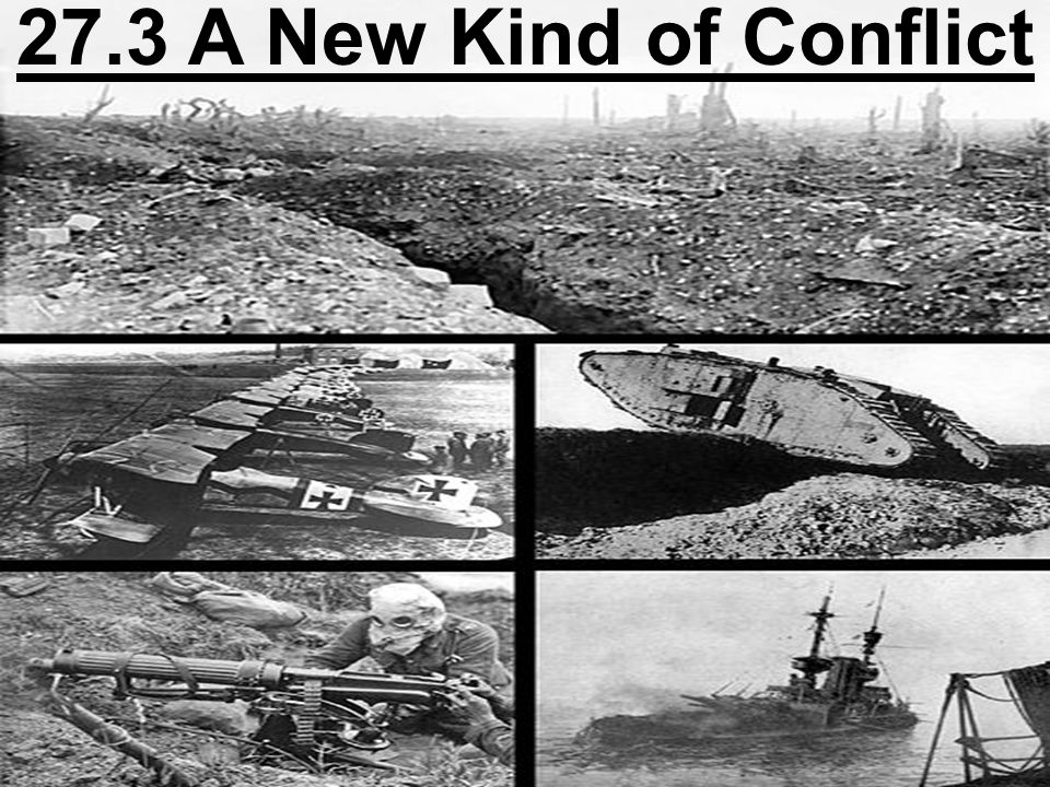 27.3 A New Kind of Conflict