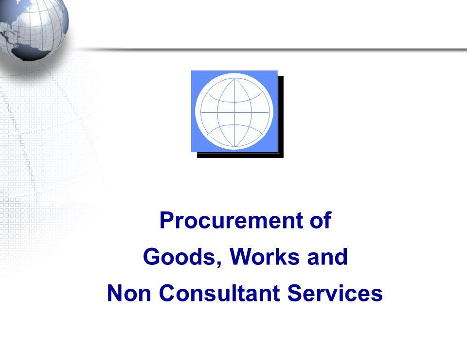 Non Consultant Services