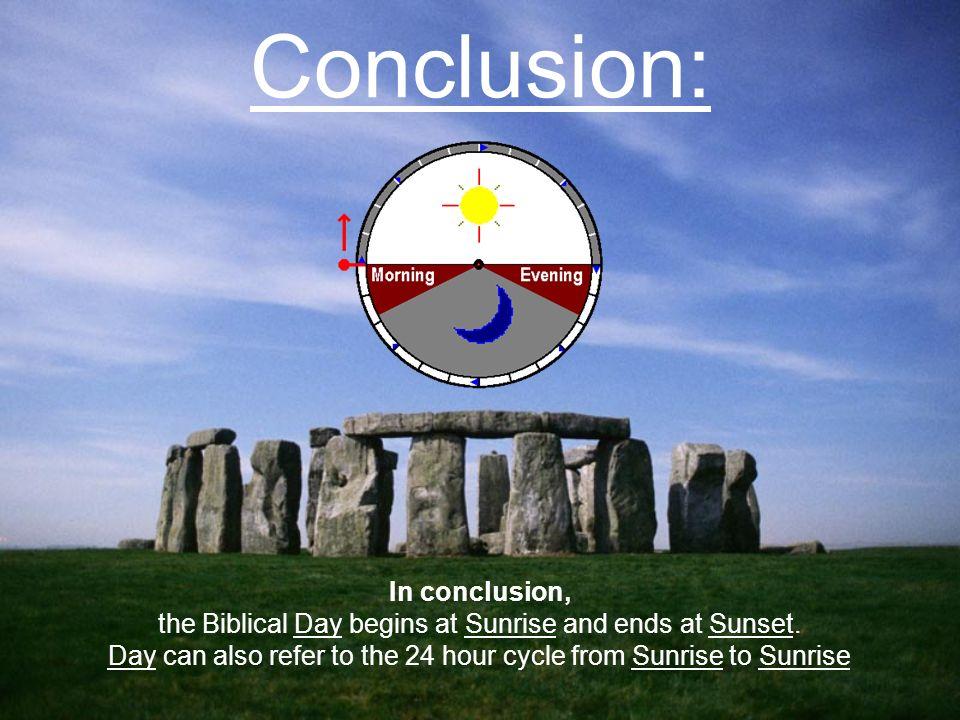 Conclusion: In conclusion,