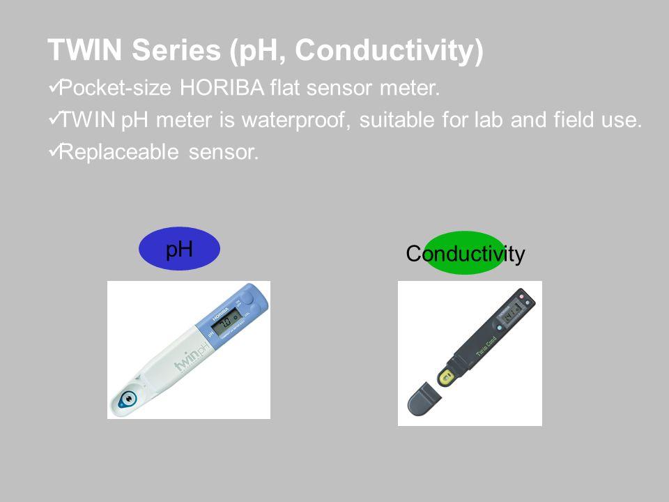 TWIN Series (pH, Conductivity)
