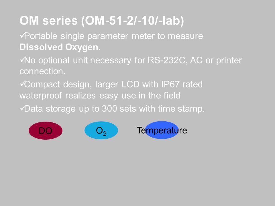 OM series (OM-51-2/-10/-lab)