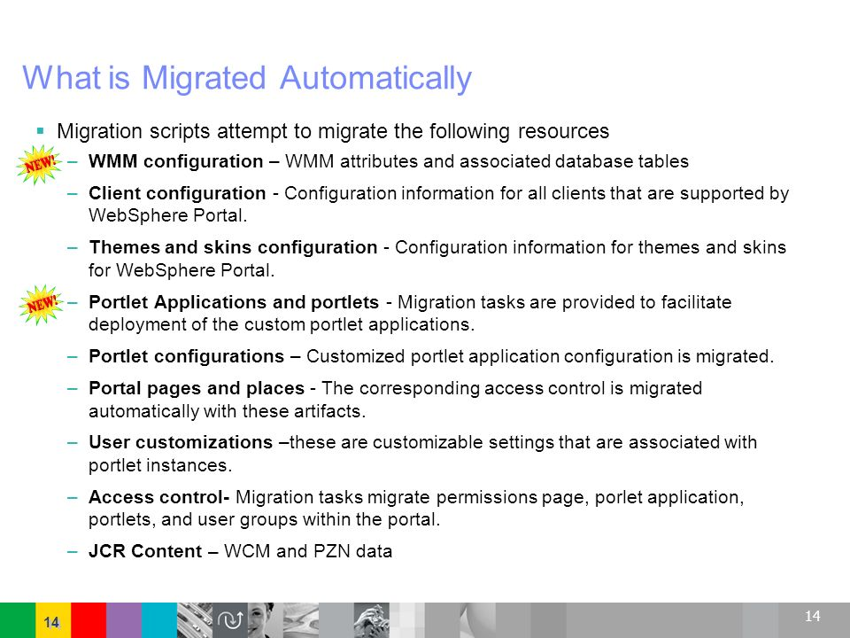 What is Migrated Automatically