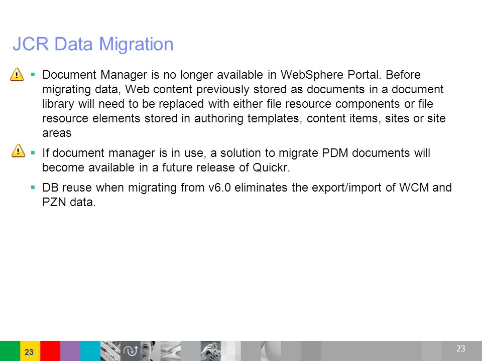 JCR Data Migration