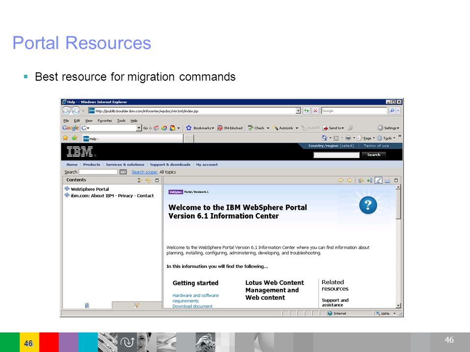 Portal Resources Best resource for migration commands