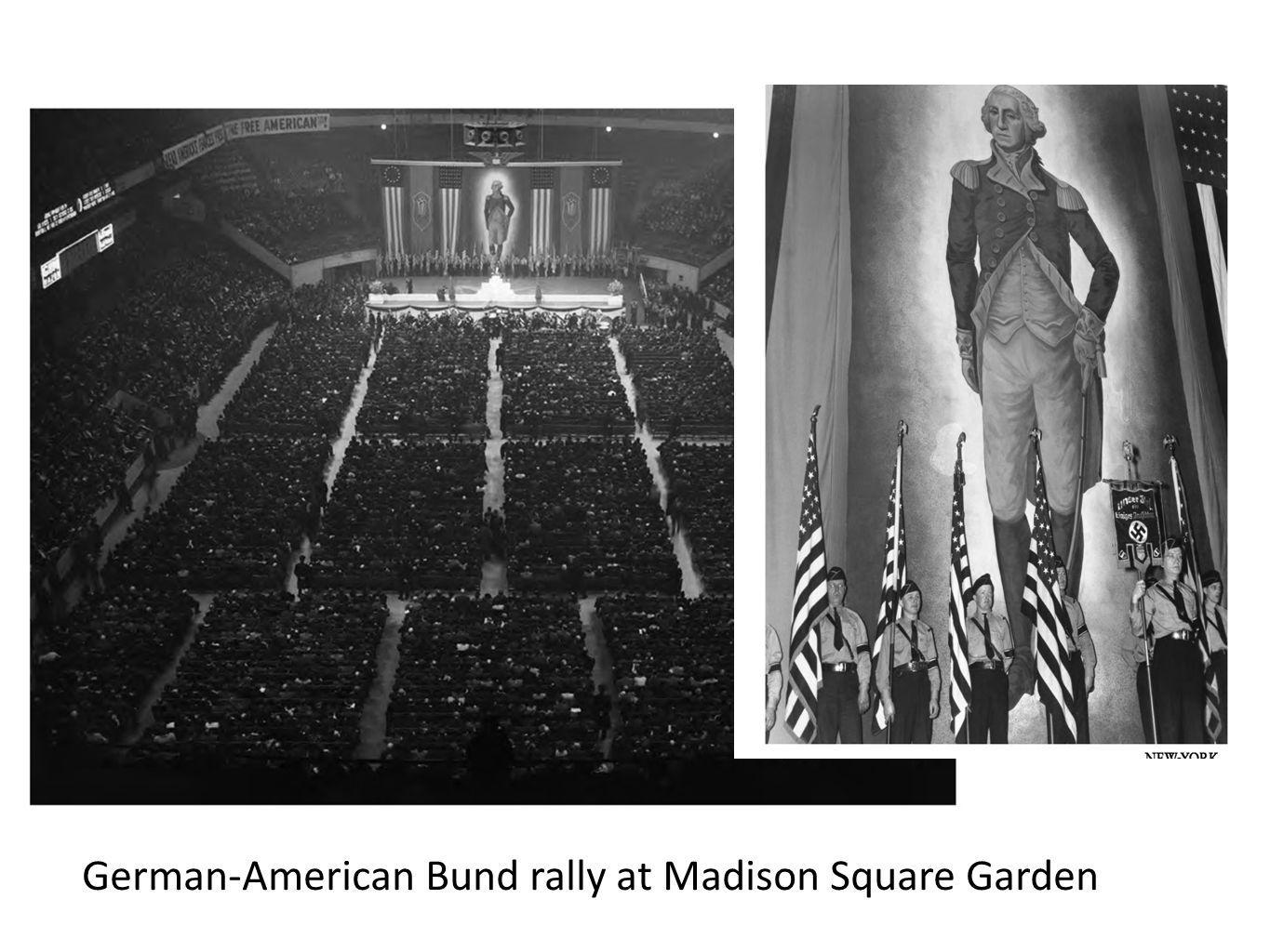 German-American Bund rally at Madison Square Garden