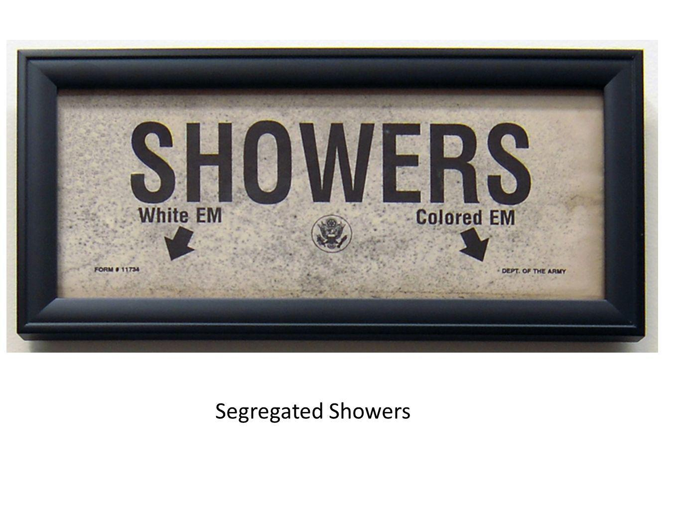 Segregated Showers