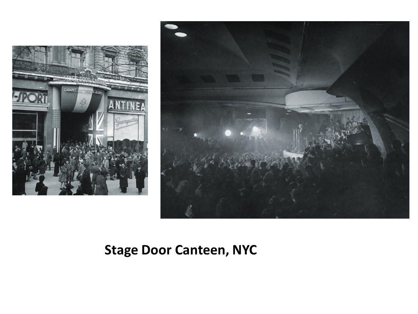 Stage Door Canteen, NYC