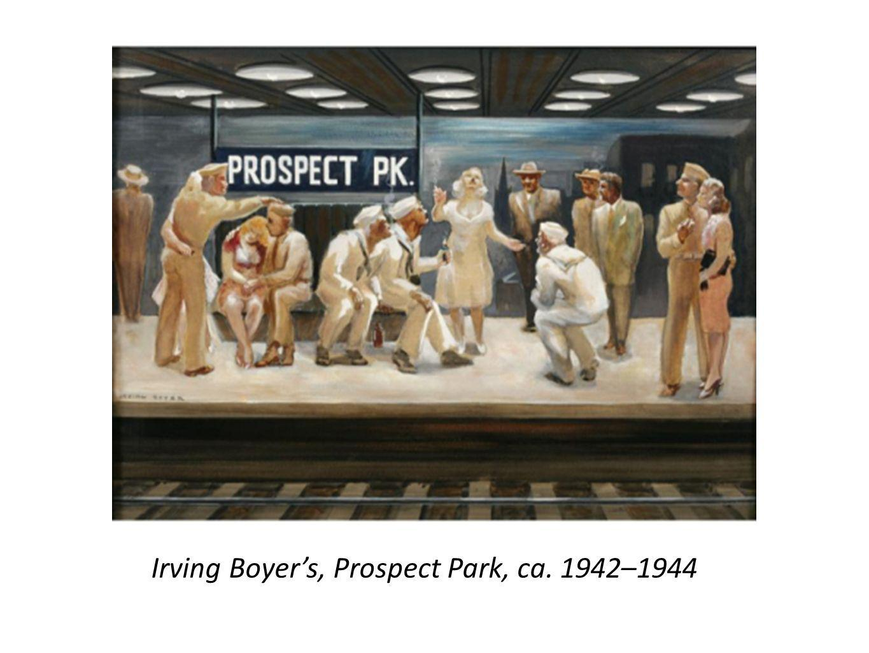 Irving Boyer's, Prospect Park, ca. 1942–1944