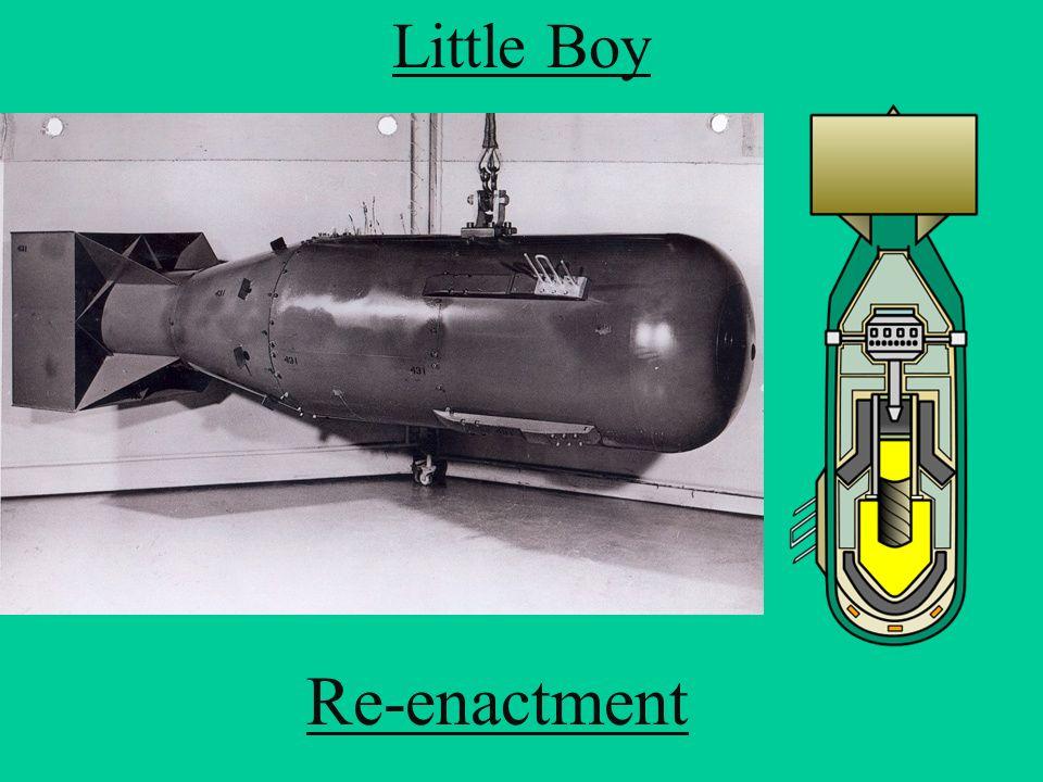Little Boy Re-enactment